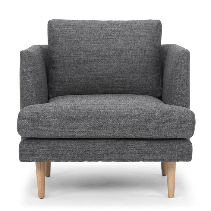 Denmark Armchair - Metal Grey