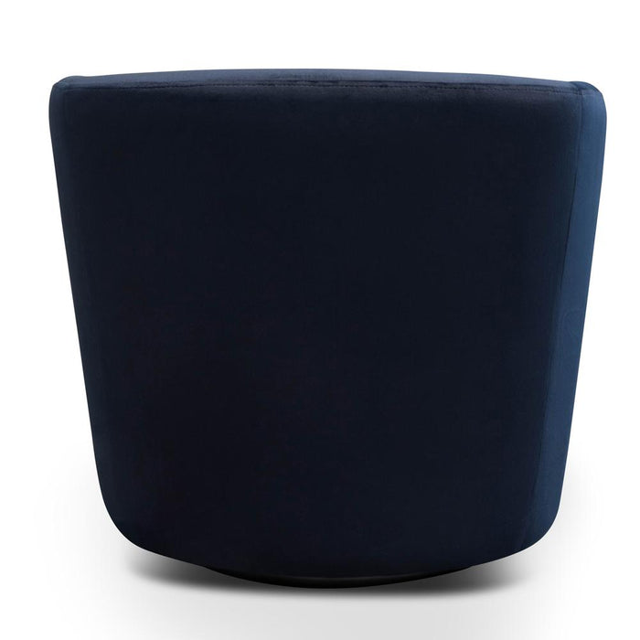 Donna Lounge Chair - Navy Velvet
