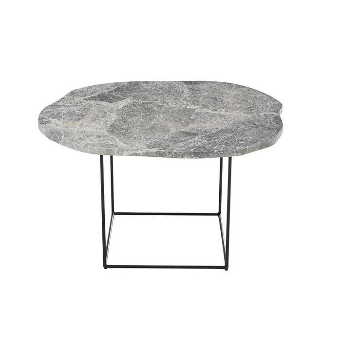 Eden Organic Marble Coffee Table - Grey