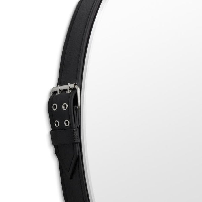 Edward 80cm Buckle Mirror - Black