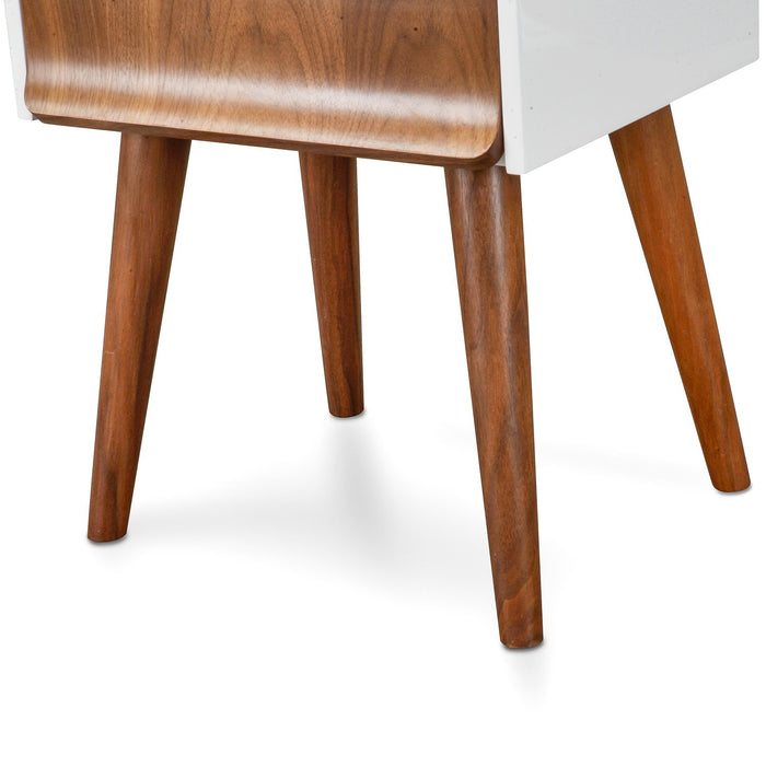 Ex Display - Elio Scandinavian Side Table - Walnut