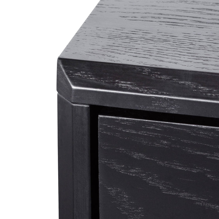 Eloise 3 Drawers Dresser Unit - Black Oak
