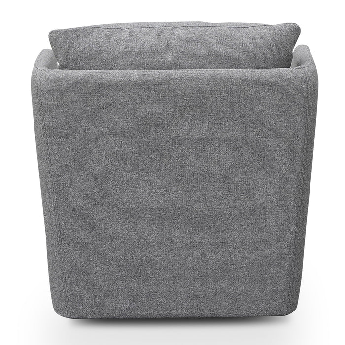Elvina Fabric Armchair - Light Grey