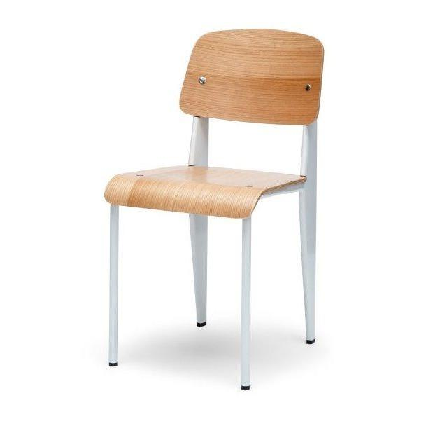 Ex display - Standard Dining Chair - Jean Prouve Replica - White