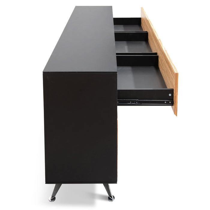Excel 6 Drawer  Buffet Unit - Zebra Wood