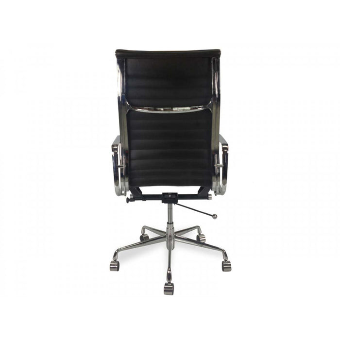 Executive Leather Office Chair - Eames Replica - Black