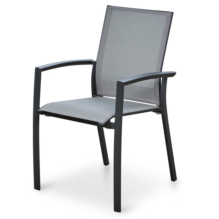 Florida Mesh Outdoor Sling Chair - Grey