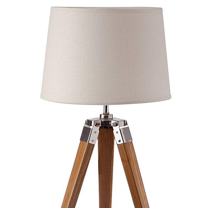 Fremont Tripod Table Lamp Beige Shade - Natural