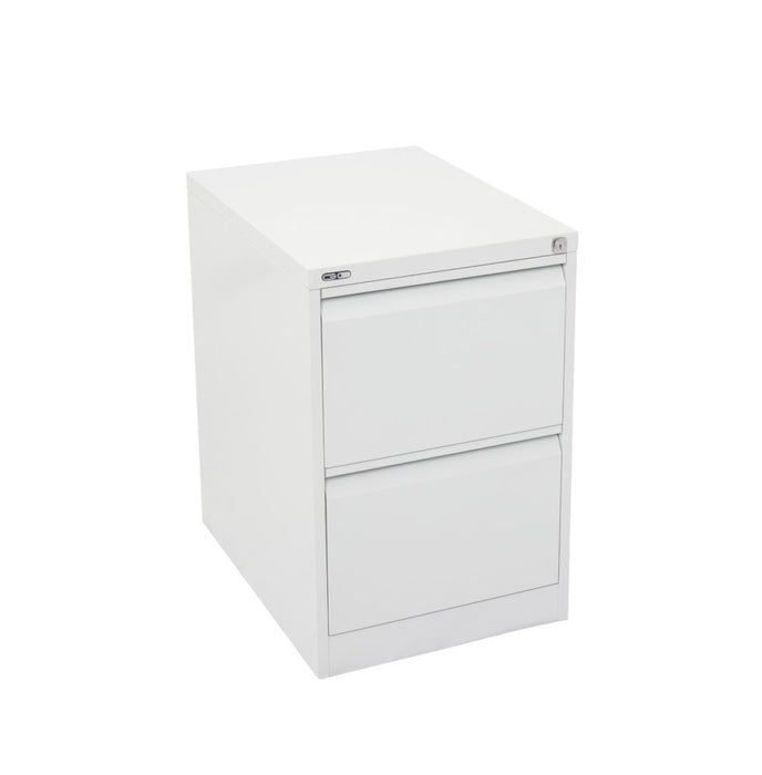 Go Vertical 2 Drawer Filing Cabinet - White China