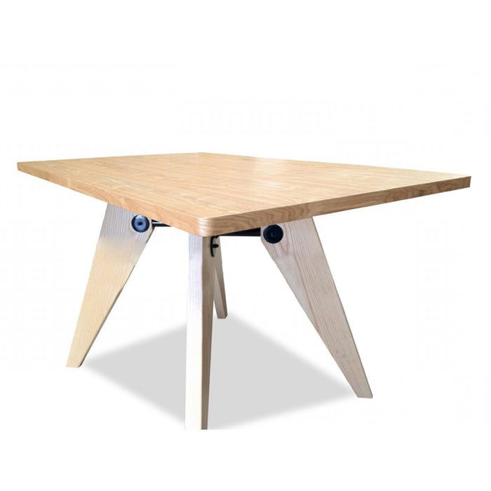 Gueridon 1.3m Dining Table - Jean Prouve - Natural Ash