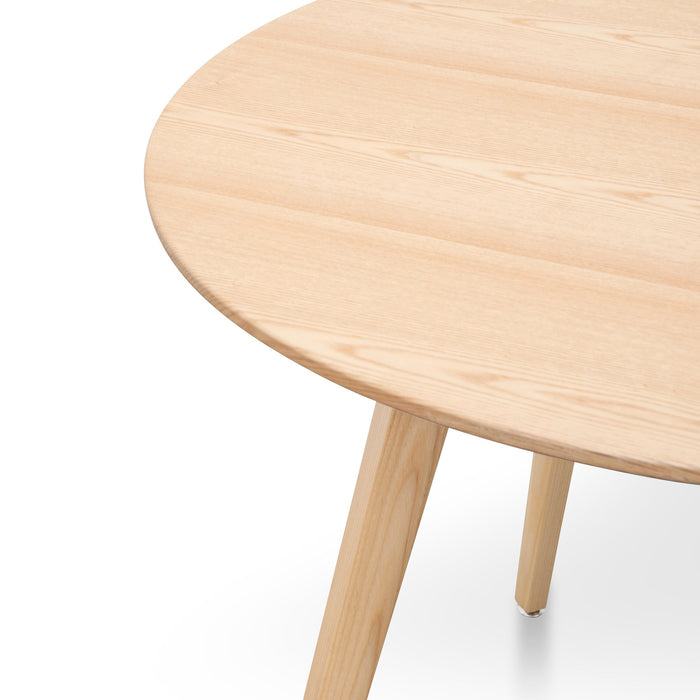 Halo 100cm 4 Seater Round Dining Table - Natural