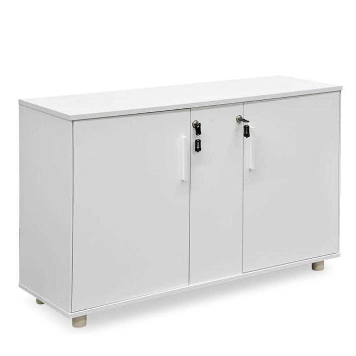 Halo 2 Doors Storage Cabinet - White