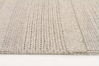 Hand Braided Grey Rug - 225 x 155cm