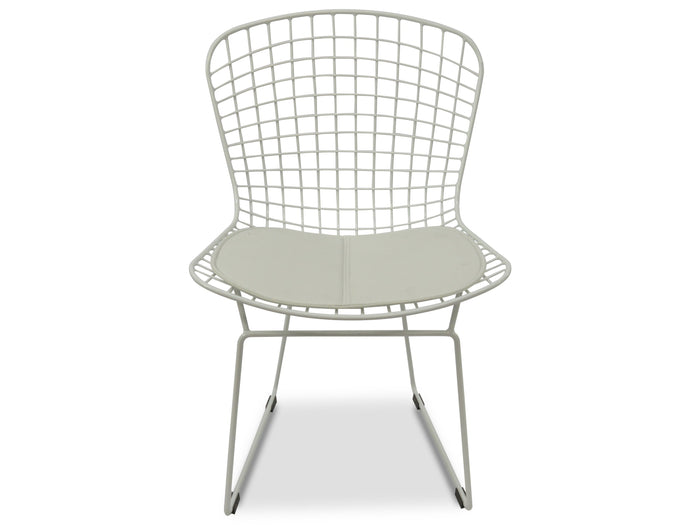 Hank Dining Chair -White Cushion