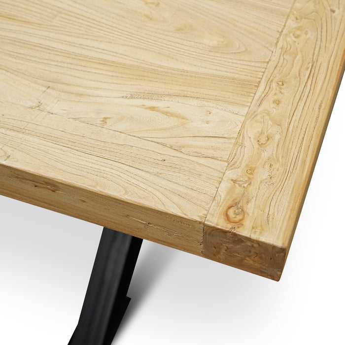 Harrison 3m Reclaimed 8 Seater Dining Table - Natural