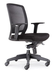 Hartley Mesh Ergonomic Office Chair - Black
