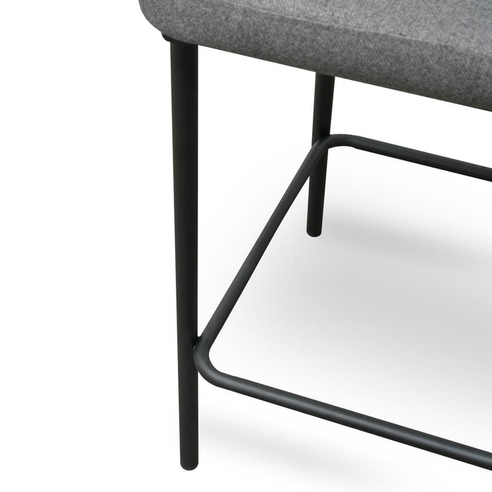 Heidi 65cm (H) Bar Stool - Grey