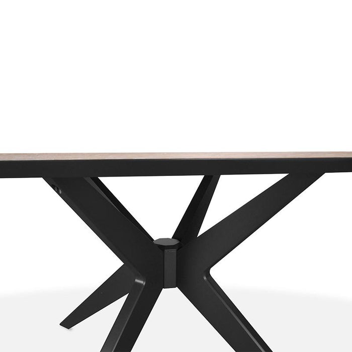 Helga 195cm Eliptical Dining Table