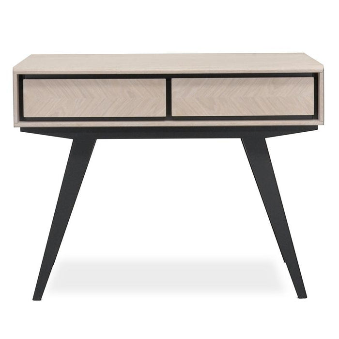 Helga Narrow Wood Console Table