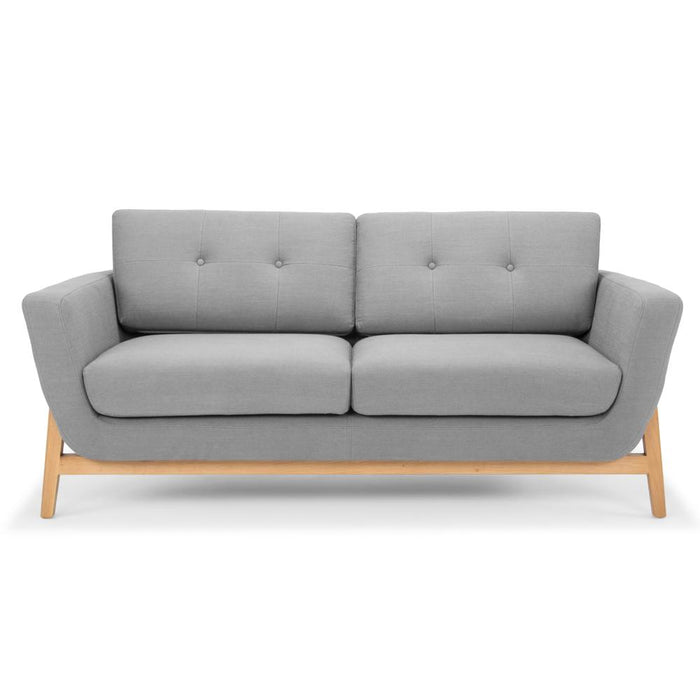 Helgrim 2 Seater Sofa - Steel Grey