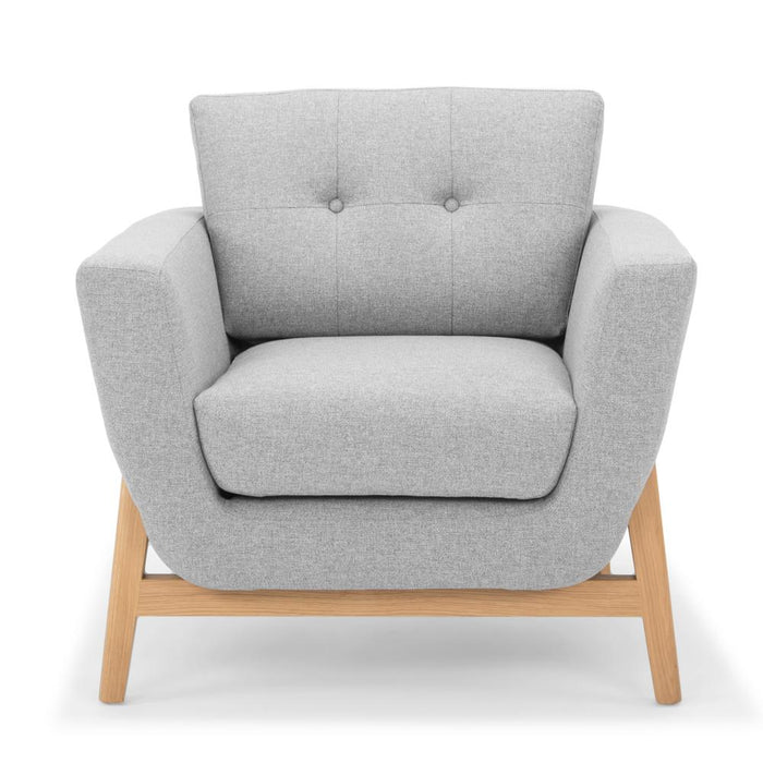 Helgrim Armchair - Light Grey