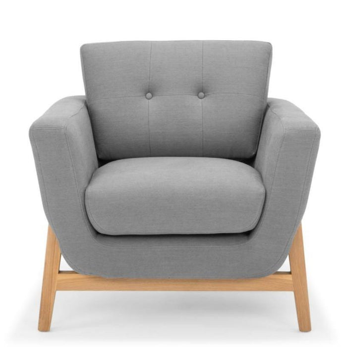 Helgrim Armchair - Steel Grey