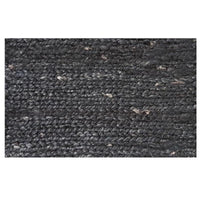 Hemp Handwoven Black Rug 240cm x 320cm