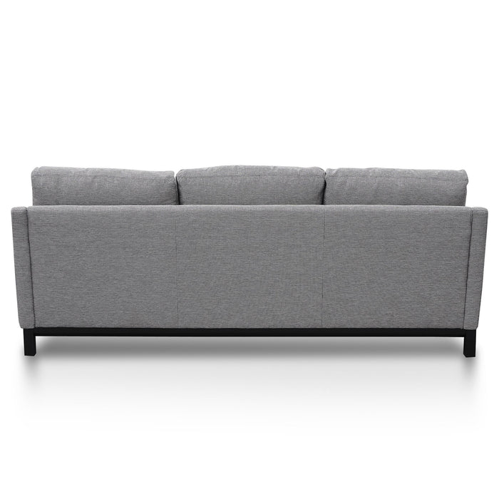 Hensley 3 Seater Fabric Sofa - Oslo Grey