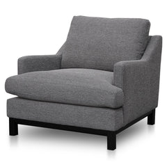 Hensley Fabric Lounge Chair - Oslo Grey