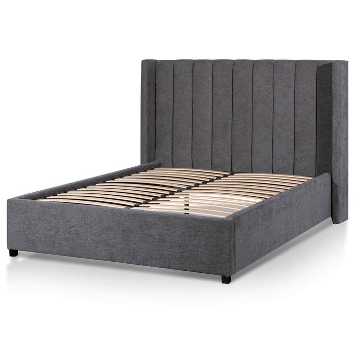 Hillsdale Queen Bed Frame - Ash Grey with Wide Base