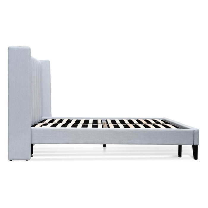Hillsdale Queen Bed Frame - Cement Grey