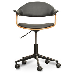 Hilton Office Chair - Black PU