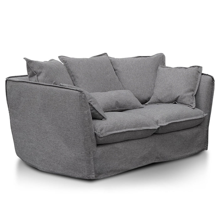 Homestead 2 Seater Fabric Sofa - French Grey