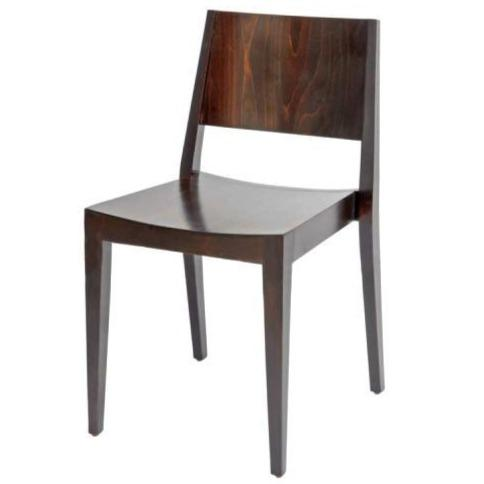 Hunter Low Back Dining Chair - Wenge