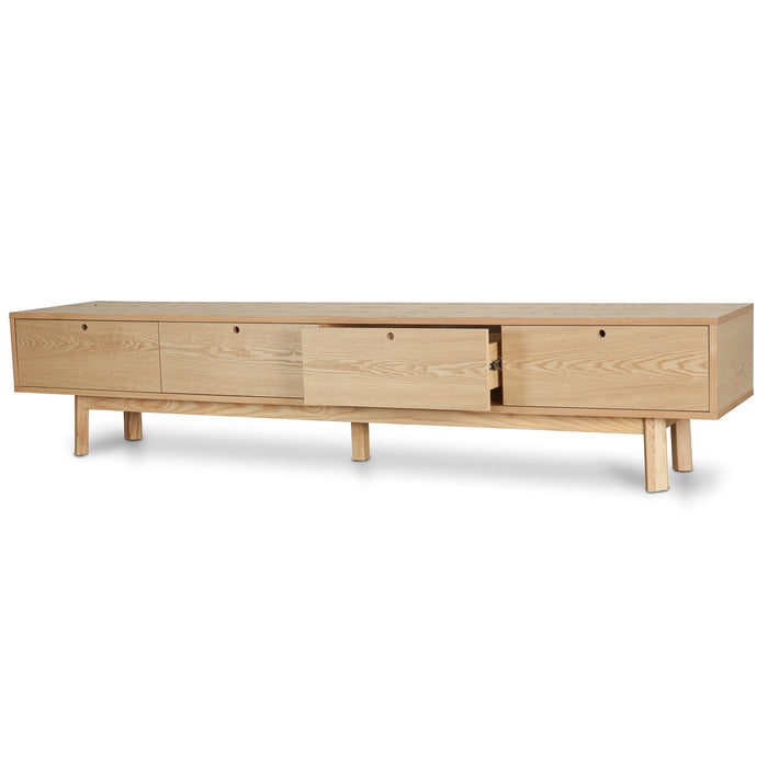 Irene Scandinavian 2.2m TV Entertainment  Unit - Natural