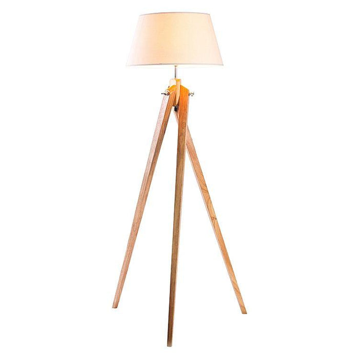 Izu Tripod Floor Lamp White - Natural