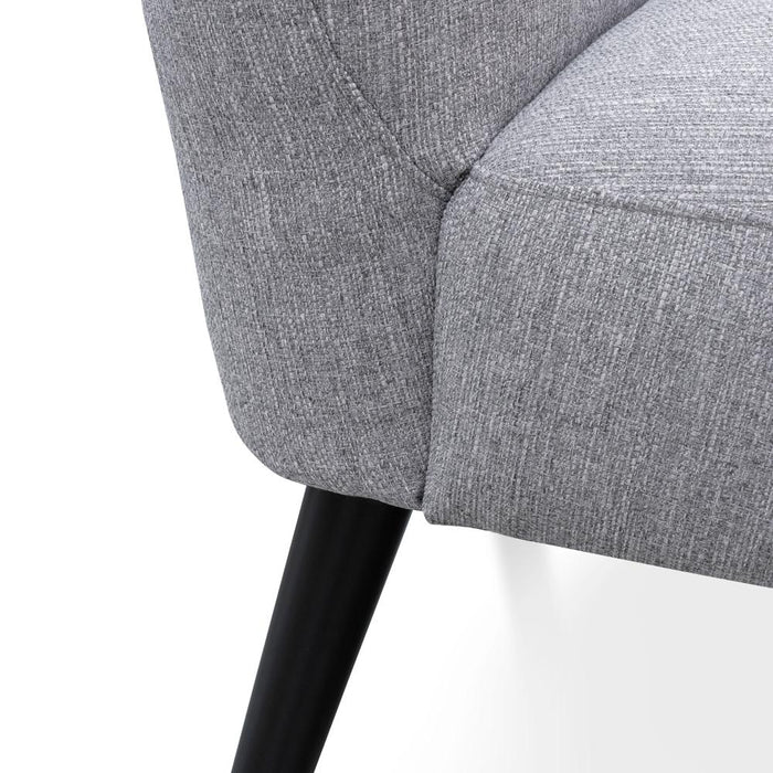Janet Lounge Chair - Cloudy Grey