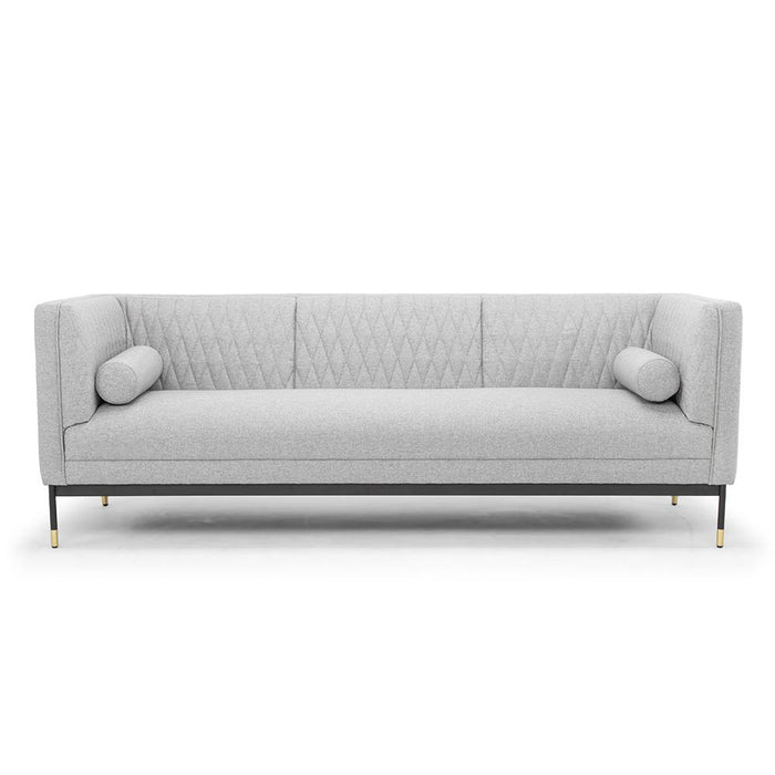 Janie 3 Seater Sofa - Light Grey
