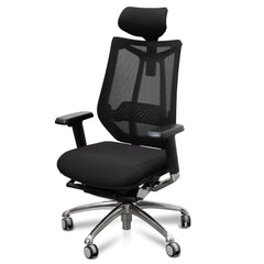 Janson Mesh Office Chair - Black