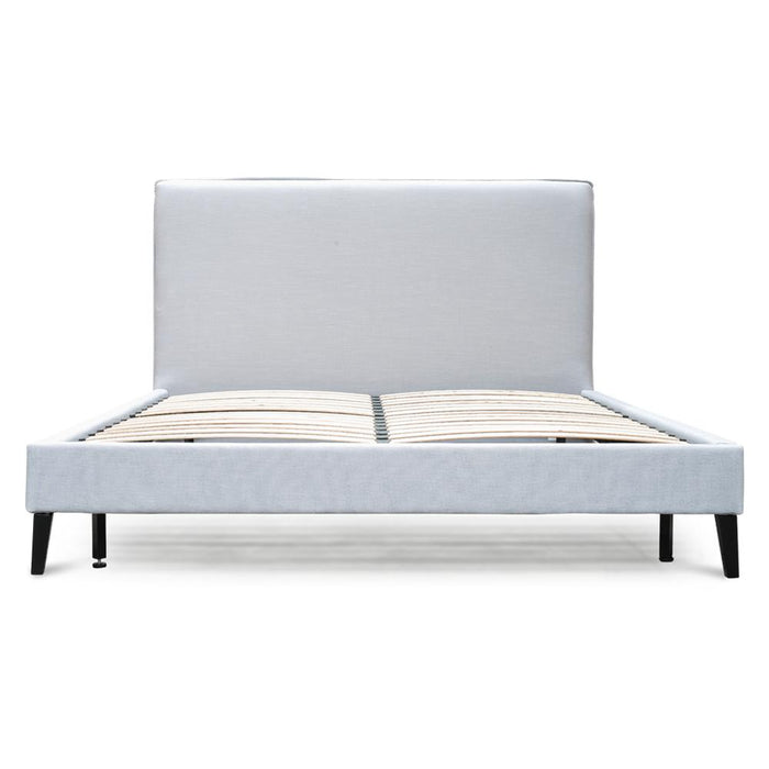 Jasper King Bed Frame - Cement Grey