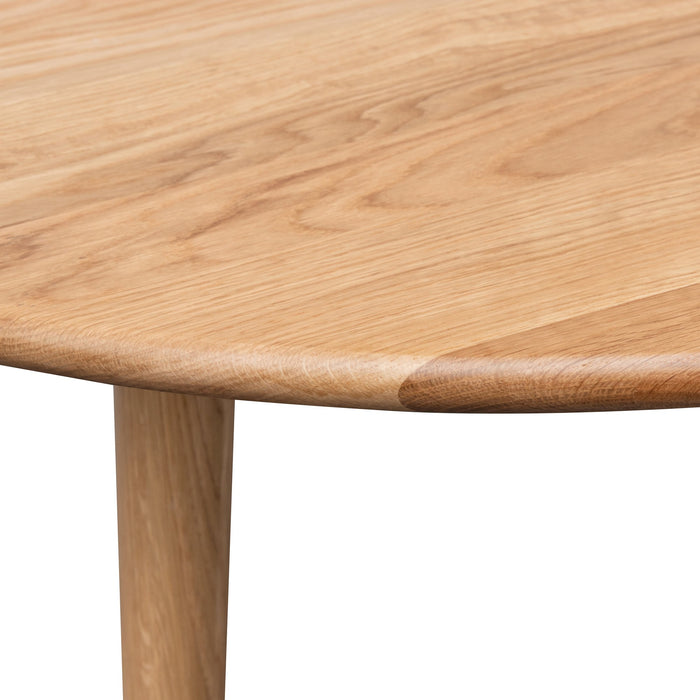 Jenks Dining Table 120cm - Natural Oak