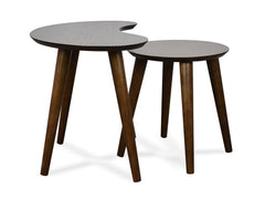 Johansen Nest of Side Tables - Walnut