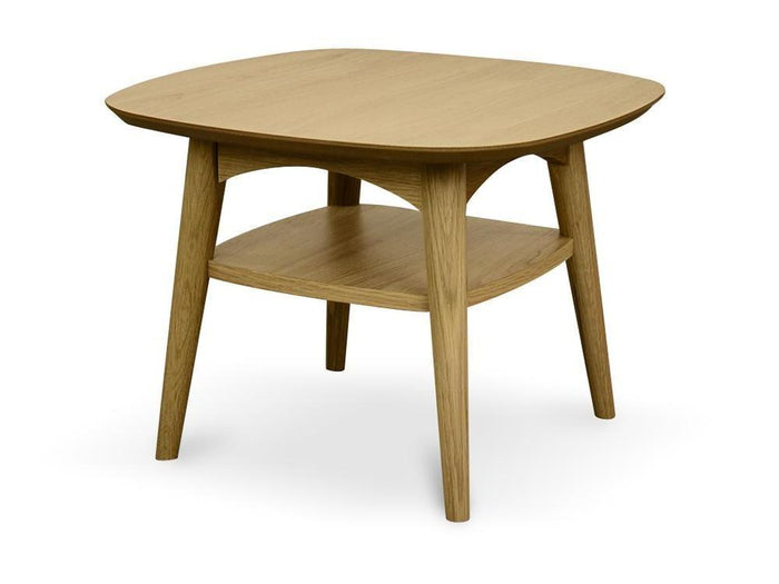 Johansen Scandinavian Lamp Side Table - Natural