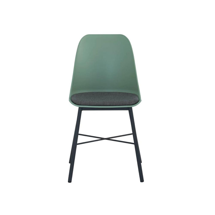 Jora Cushion Seat Dining Chair - Green