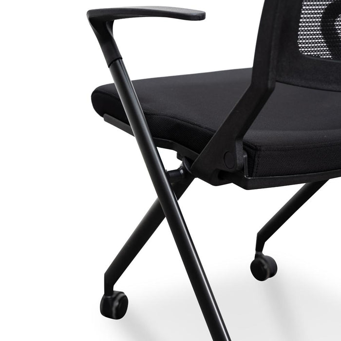 Josh Office Visitor Chair - Black