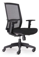 Kal Mesh Ergonomic Task Office Chairs - Black