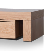 Katherine Extendable TV Entertainment Unit - Natural Oak