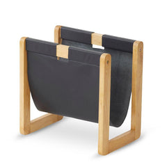 Ken Black Leather Magazine Holder