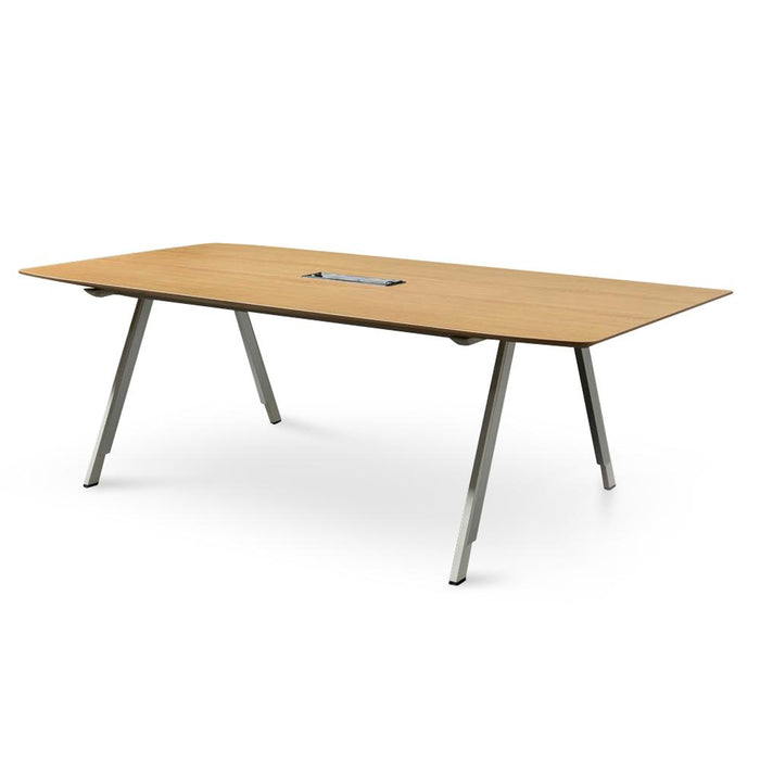 Leroy Boardroom Meeting Table - Natural