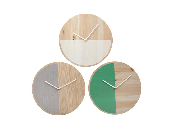 Lilly Wall Clock - Green